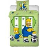 Jerry Fabrics Obliečky Simpsons Bart a Homer 140x200 70x90