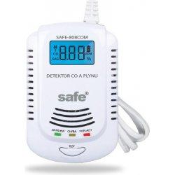 Kombinovaný detektor CO, horľavých a výbušných plynov SAFE-808 COM (zemný plyn)