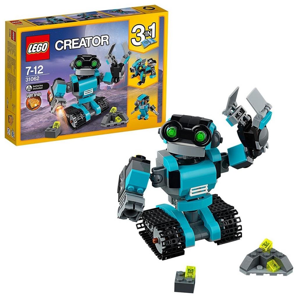 Recenzie LEGO Creator 31062 Prieskumný robot - Heureka.sk 4d66ba5f53