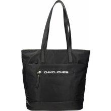 b4239fc612 David Jones Úžasná kabelka s módním potiskem černá