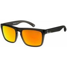 Quiksilver The Ferris - 823/Matt Transparent Gray/Multilayer Orange