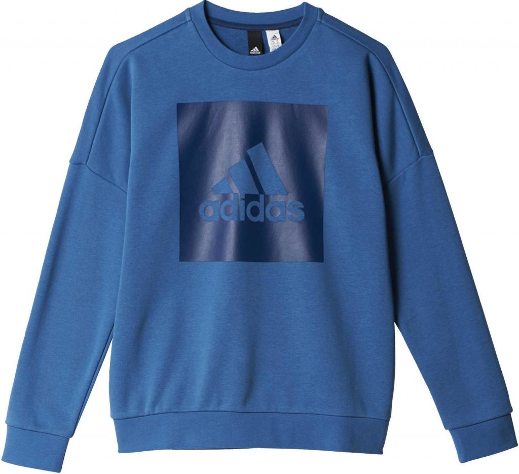 633f39d0f Adidas chlapčenská mikina BP8770 YB Logo Crew od 22,95 € - Heureka.sk