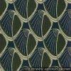1f55c0507a07 Secesný dekoračná látka Nemecko 1900-1910 (mušle) tm. modrá   olivová