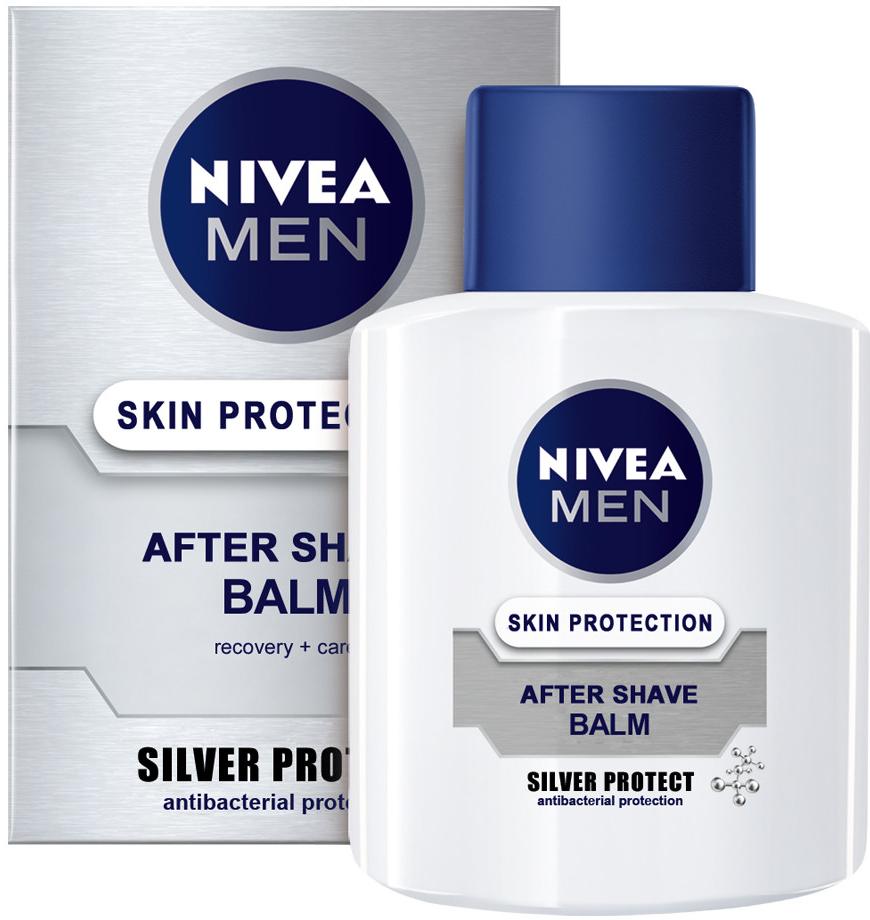 d8f22472b4 Nivea Men Silver Protect balzám po holení 100 ml