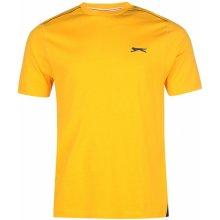 Slazenger Plain T Shirt Mens Orange