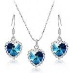 Súprava šperkov Ocean Heart GLAM016