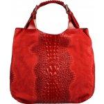 Talianská kožená kabelka Elizabeth Rossa Luca Cocco