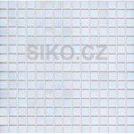 Premium Mosaic Mozaika biela s perleťou 2x2 cm - MOS20WHHM