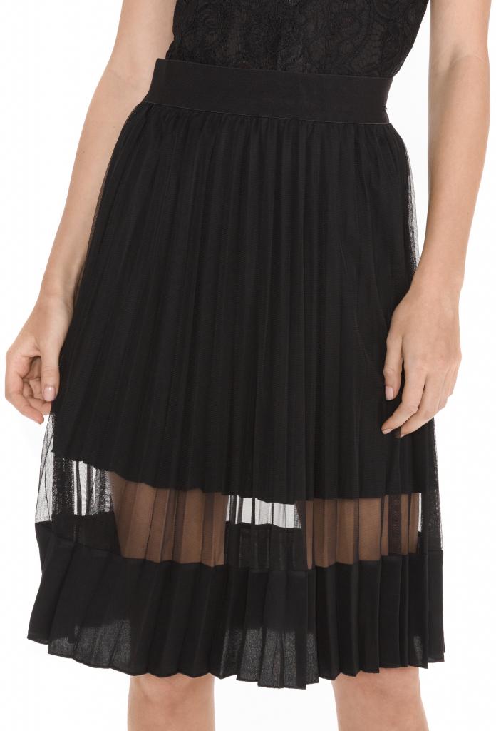 3c284ead5339 Dámska sukňa Guess dámska sukňa Lucinda čierna - Zoznamtovaru.sk