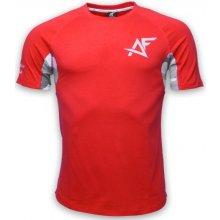 Aesthetic Fitness Tričko CAMO červená
