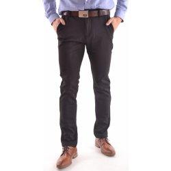 586785456056 Pánske elastické športovo-elegantné nohavice M.SARA (KA 9288) - čierne