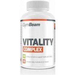 GymBeam Multivitamín Vitality Complex 120 tabliet