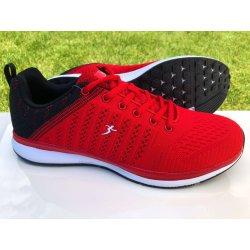 8abb1896274 Knup Pánska športová obuv - 4085M6 4085M6 - Biela Červená 4085M6 ...