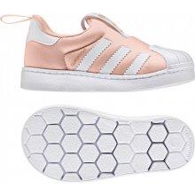 d0ac7e2eb144 Adidas Originals SUPERSTAR EL I Ružová   Biela