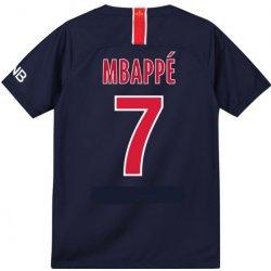 a913183735c40 Nike Paris Saint-Germain FC PSG MBAPPÉ dres detský 2018 2019 domáci ...