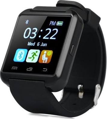 Картинки по запросу смарт часы U80+ черные