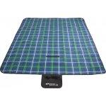 Pikniková deka Checkered 150x180 modrá
