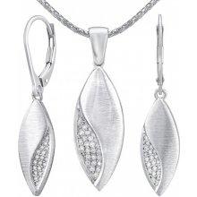 ff5f72aab Silvego strieborný set šperkov Gracie náušnice a prívesok QRZS205