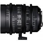 SIGMA CINE 18-35mm T2 EF mount Canon