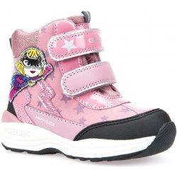 Geox Dievčenské svietiace zimné topánky New Gulp ružové alternatívy ... 8eea844109