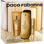 Paco Rabanne 1 Million pre mužov EDT 100 ml + sprchový gél 75 ml + EDT 10 ml darčeková sada