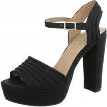2f7fb1381d04e Dámska obuv sandale+na+platforme, čierna - Heureka.sk