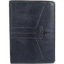 1185b2a77 Buffalo Wild Pánska kožená peňaženka modrá