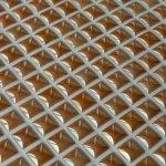 MOSAGRES MSP204 Mozaika porcelán perleť 300x300x8mm zlatá