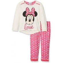 SUN CITY Dětské pyžamo Minnie Love bavlna růžové