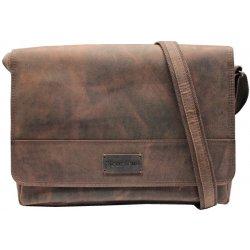 05926d90ffc5 Scorteus pánska kožená taška 143703 96 hnedá melír alternatívy ...