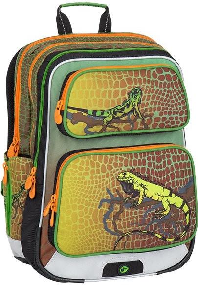 9d5f597262 Školský batoh Bagmaster batoh GALAXY 7 E zelená oranžová ...