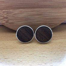 Manzetky.sk manžetové gombíky s drevom M01149