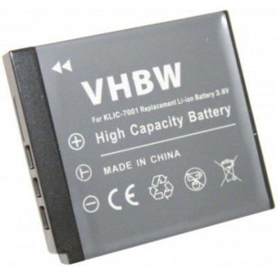 VHBW Kodak Klic-7001 batéria - neoriginálne