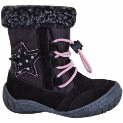 Protetika Dievčenské zimné topánky SIERA čierne od 23 e80f88d8a1