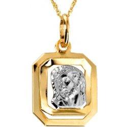 Pridať používateľskú recenziu iZlato Design Zlatý prívesok s Ježišom ... 8a94dc7225a
