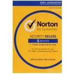 SYMANTEC NORTON SECURITY DELUXE 3.0 1 lic. 5 lic. 12 mes.