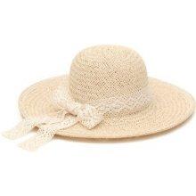 604cc049f Art of Polo Dámsky letný klobúk s čipkovou stuhou béžový cz16231 .1