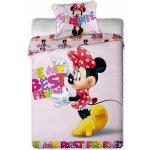 Jerry Fabrics obliečky bavlna Minnie letters 140x200 70x90