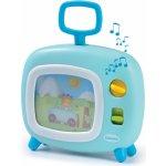 Smoby 211316 svetlomodrý farebný televízor Cotoons s hudbou pre kojencov