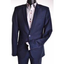 Pánský Oblek modrý s bledomodrou ozdobou