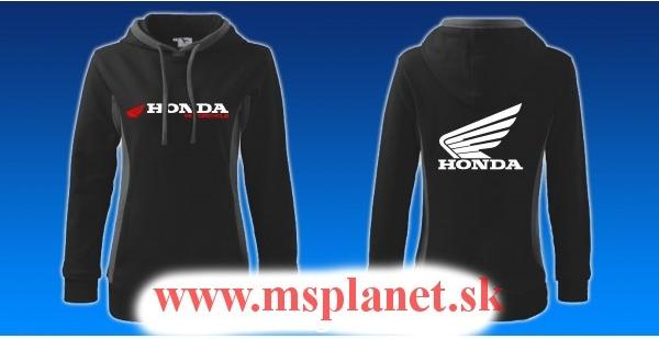 Dámska mikina Dámska mikina s motívom Honda - Zoznamtovaru.sk da063b44e05