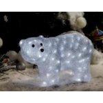 Vianočné osvetlenie medveď