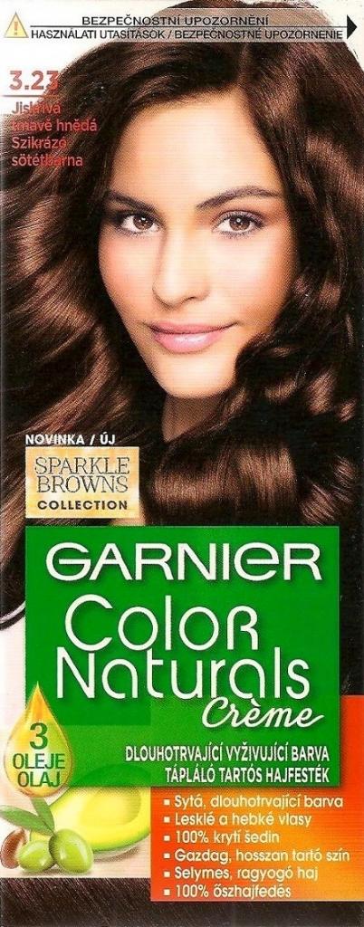 Garnier Color Naturals Creme 3 23 Jiskriva Tmavo Hneda Blond Farba