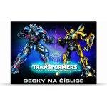 Karton P+P Desky na číslice Transformers