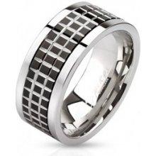 c476ff82e Steel Edge Oceľový prsteň Spikes 2808