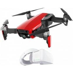 03e84b86c DJI Mavic Air Fly More Combo, 4K kamera, červený + DJI Goggles - DJIM0254RCG