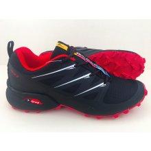 Pánska trailová obuv 3481M2 Čierna / Červená