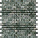 Premium Mosaic Stone Mozaika sivé tehly 1,5x3 cm - STMOS1530GYW