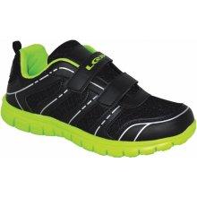 LOAP Chlapčenské športové tenisky Stepp čierno-zelené