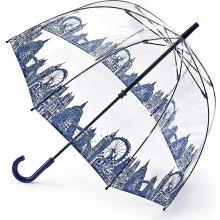 583d7af92 Fulton dámský průhledný holový deštník Birdcage 2 LONDON ICONS L042